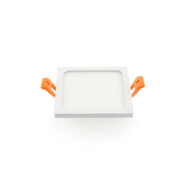 Downlight Led SLIM KVADRATA 8W, Blanco frío